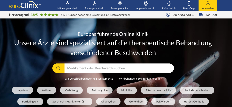 EuroClinix-versandapotheke
