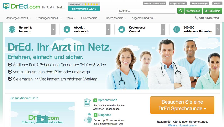 DrEd - ihr seriöser Arzt im Netz